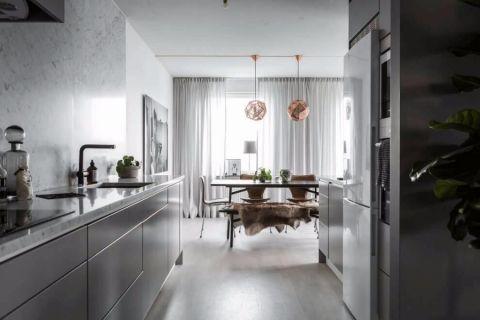 厨房北欧风格装潢设计图片