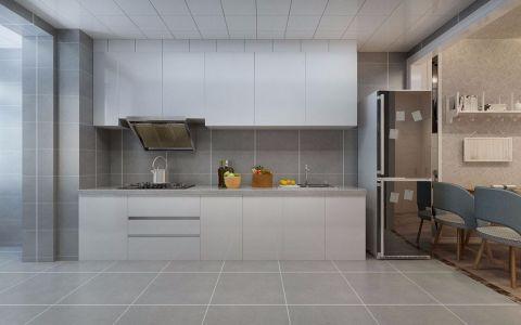 厨房背景墙北欧风格装修效果图