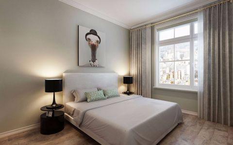 卧室照片墙北欧风格装修图片