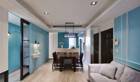 11.5万预算90平米两室两厅装修效果图