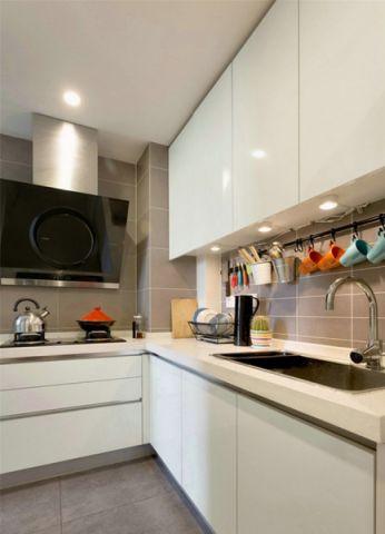厨房北欧风格效果图