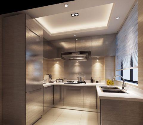 厨房窗帘新中式风格装修效果图