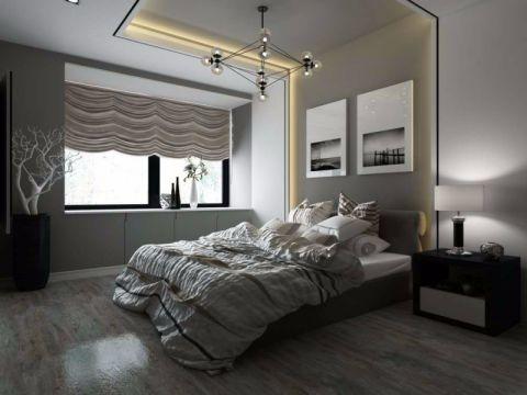 卧室飘窗现代风格装修图片