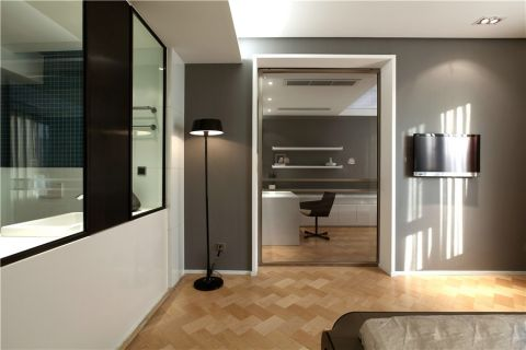 走廊现代简约风格装饰图片