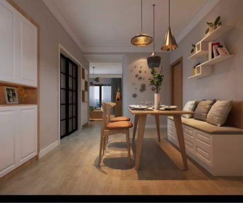 餐厅地板砖现代风格效果图