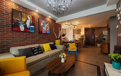 6万预算90平米公寓装修效果图