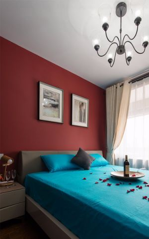 卧室吊顶混搭风格装修图片