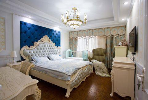 20万预算120平米三室两厅装修效果图