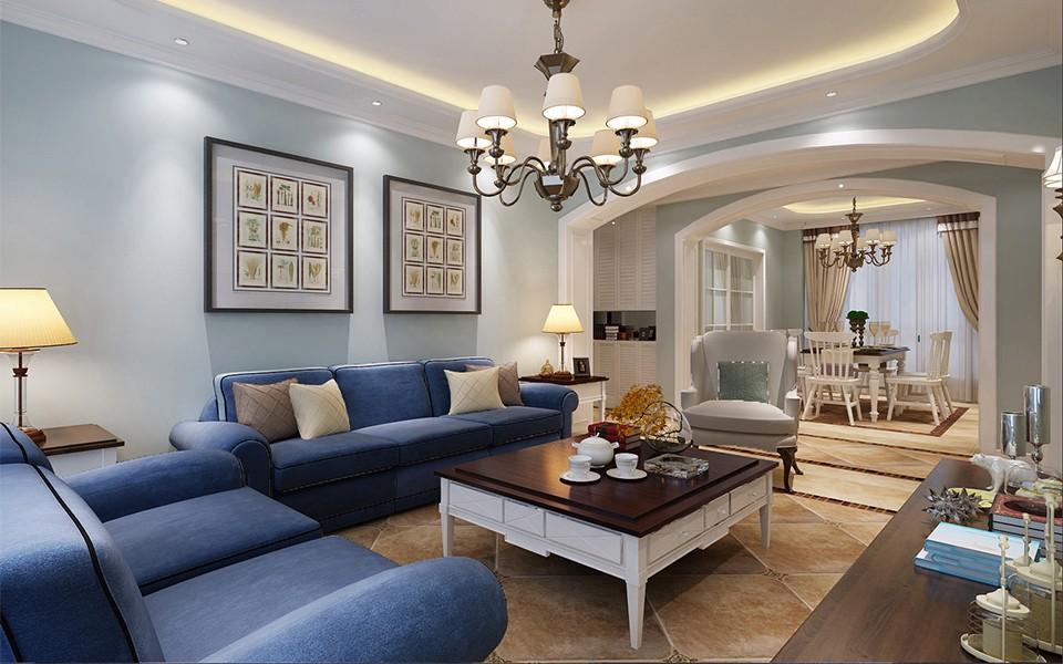 2室2卫2厅135平米欧式风格