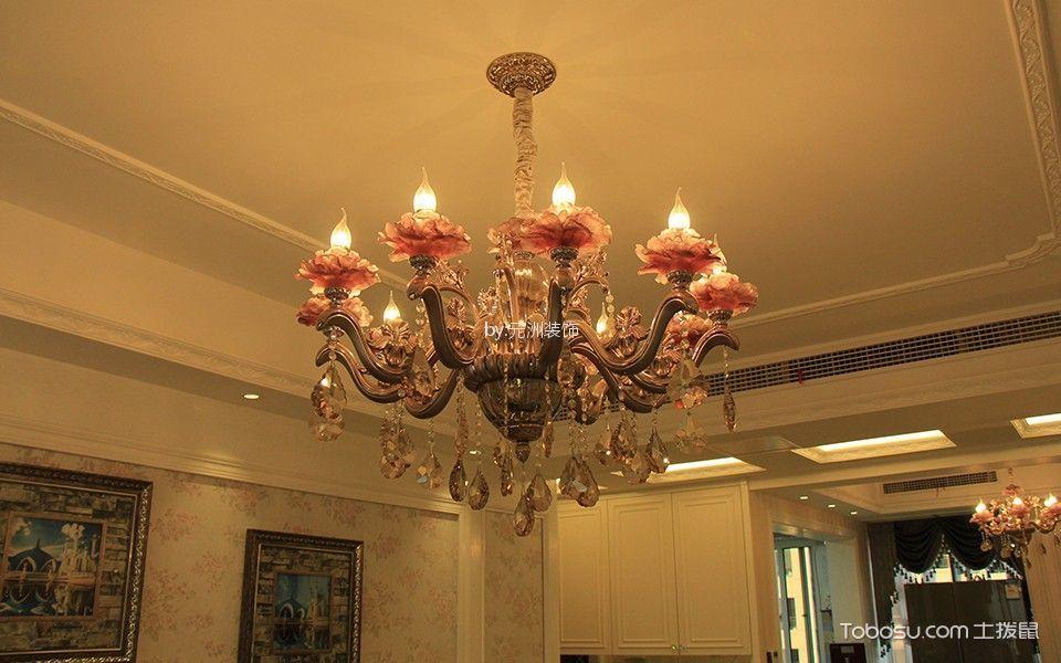 客厅红色细节欧式风格装修图片
