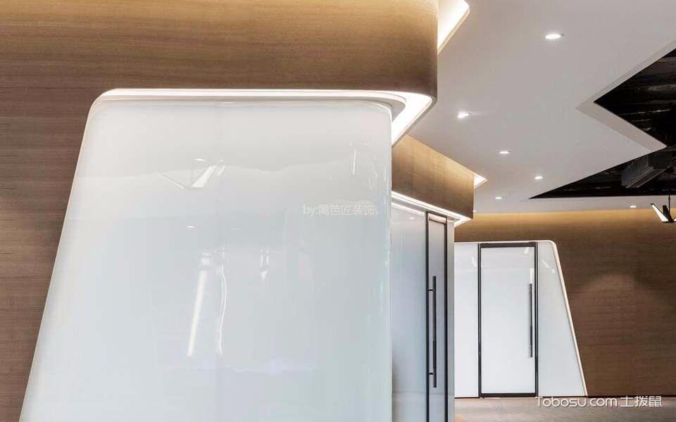 600平米超市办公室走廊装饰实景图