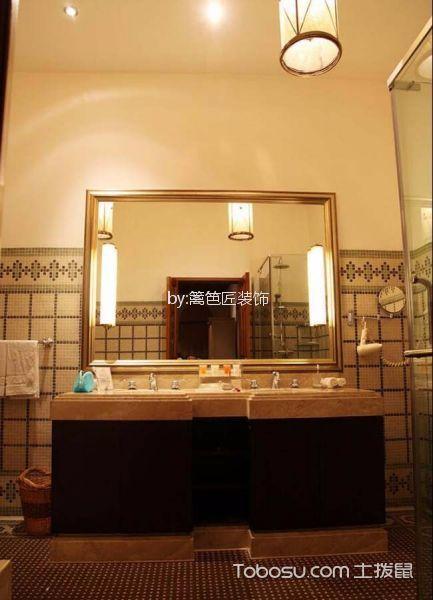 300平米酒店卫生间梳妆台装潢图片欣赏