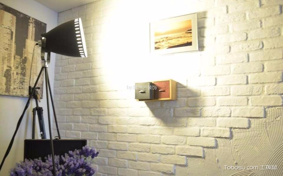 现代风民宿酒店背景墙装潢实景图
