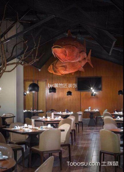 1200平米餐厅过道效果图图片