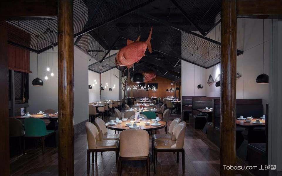1200平米餐厅餐桌装修图片