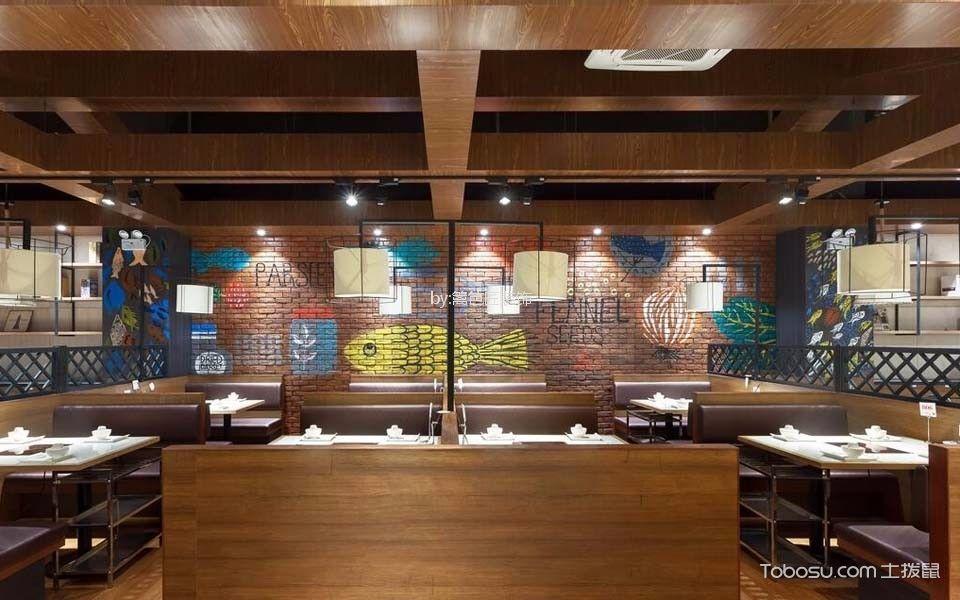 276平米湘菜餐厅背景墙装饰图片