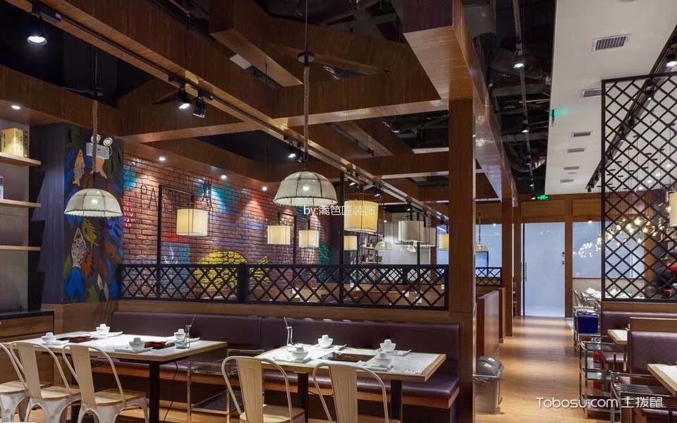 276平米湘菜餐厅装潢图片