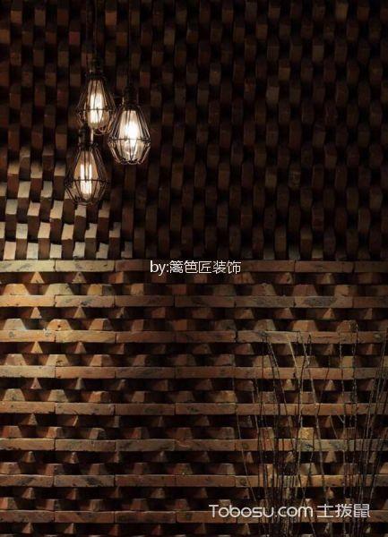 218平米咖啡厅背景墙装潢图片