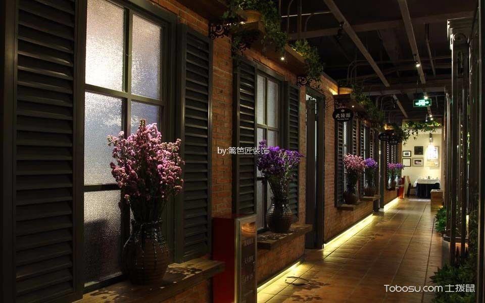 800平米茶餐厅走廊设计图片