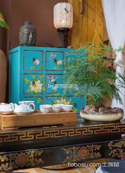 60平米食品店餐厅装饰效果图欣赏