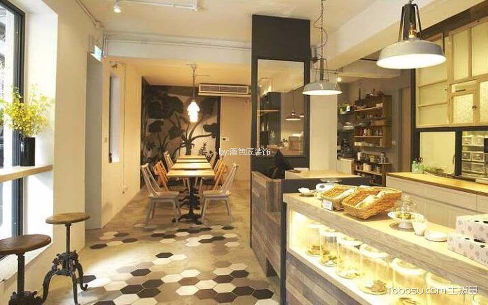 77平米甜点店走廊设计图欣赏