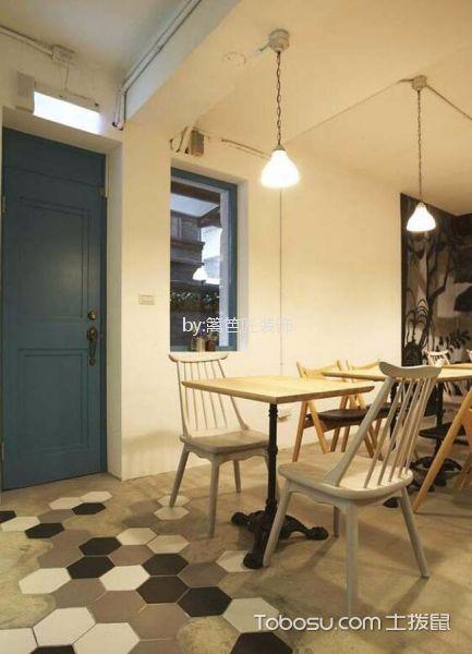 77平米甜点店餐桌装修图片