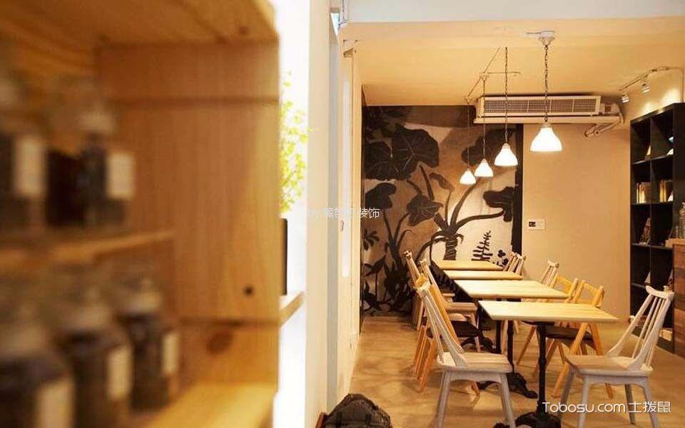 77平米甜点店餐桌装饰图片