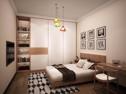 7.8万预算100平米三室两厅装修效果图
