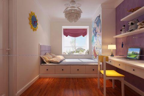 儿童房榻榻米现代风格装潢效果图