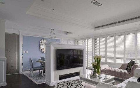 客厅隔断新古典风格装修效果图