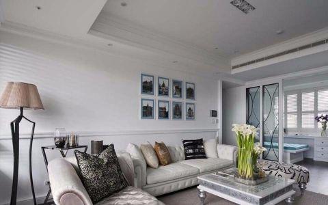 客厅照片墙新古典风格装潢效果图