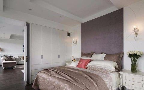 卧室背景墙新古典风格装潢设计图片