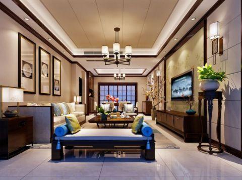 14万预算160平米四室两厅装修效果图