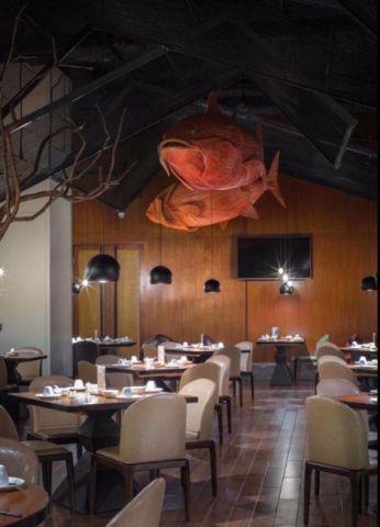 1200平米餐厅装修效果图