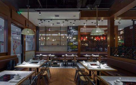 276平米湘菜餐厅装修效果图
