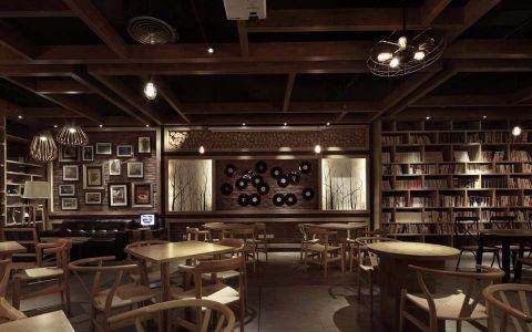 218平米咖啡厅装修效果图