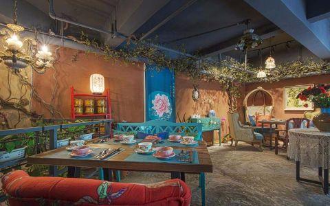 60平米花园餐厅食品店装修效果图