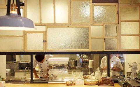 77平米甜点店装修效果图