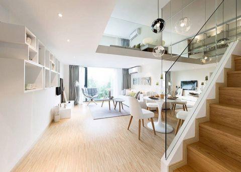 客厅走廊现代简约风格装修设计图片