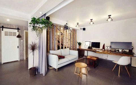 书房吊顶北欧风格装饰效果图