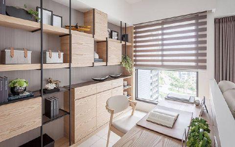 书房窗台现代简约风格装修效果图