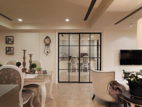 客厅走廊美式风格装修效果图