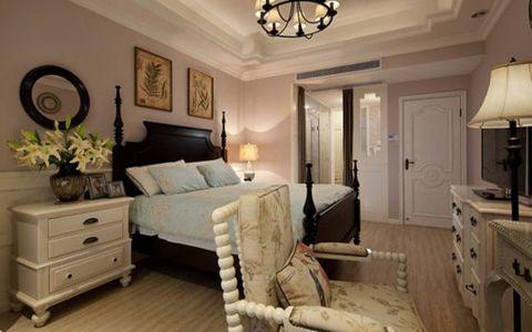 卧室隔断美式风格装饰效果图