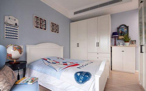 卧室博古架美式风格装潢效果图