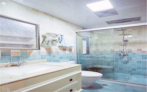 卫生间吊顶混搭风格装修效果图