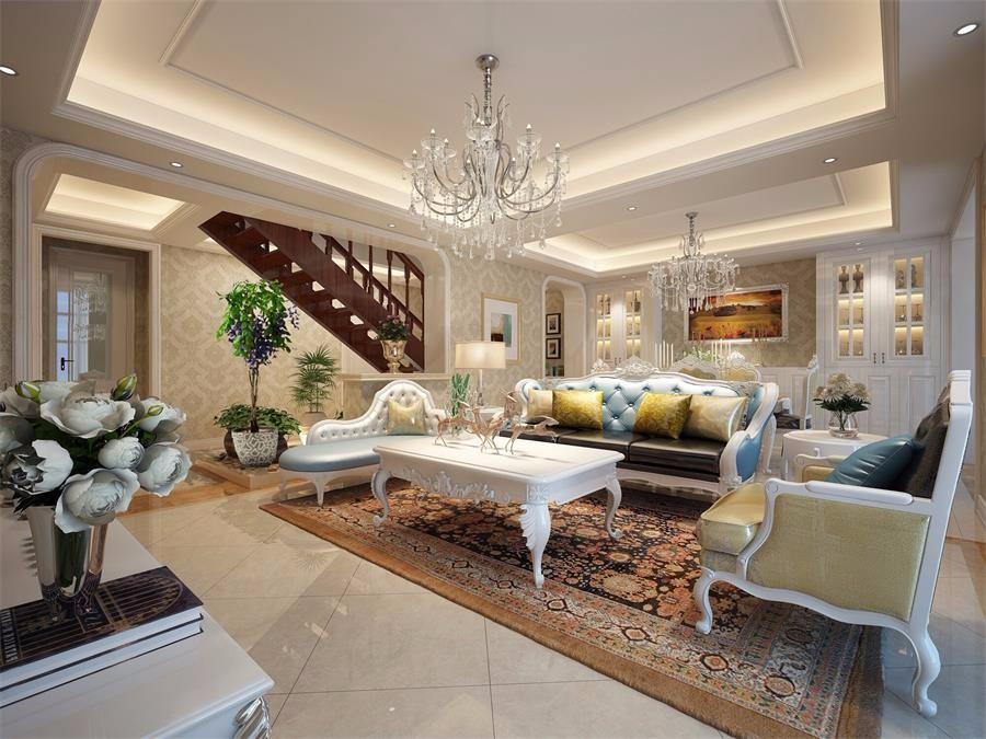 3室1卫1厅142平米欧式风格