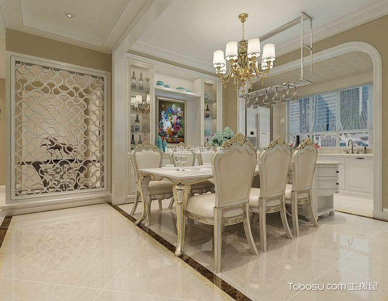 17万预算170平米四室两厅装修效果图