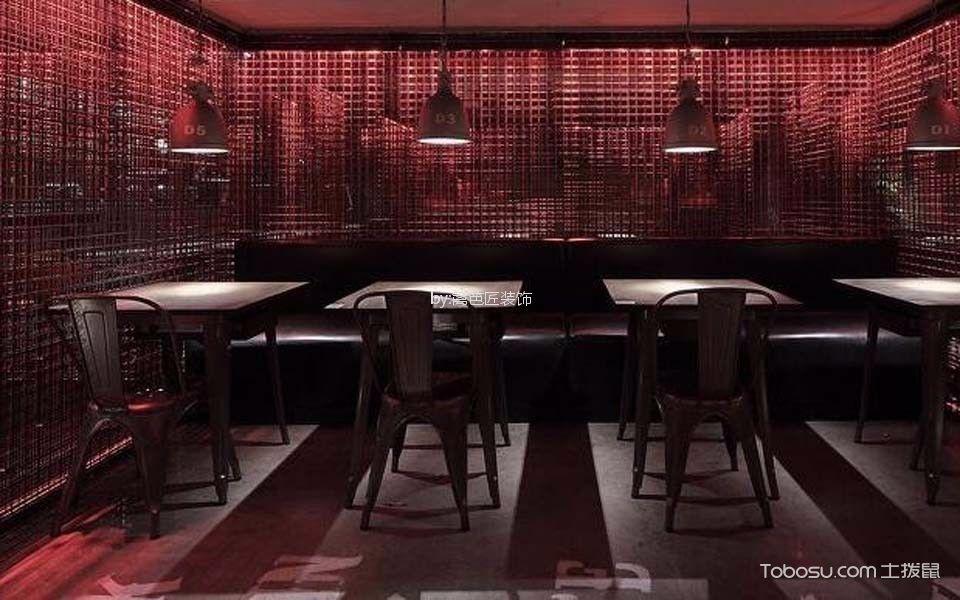 海盗风格清吧餐桌装潢效果图