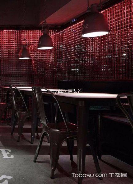 海盗风格清吧餐桌效果图图片