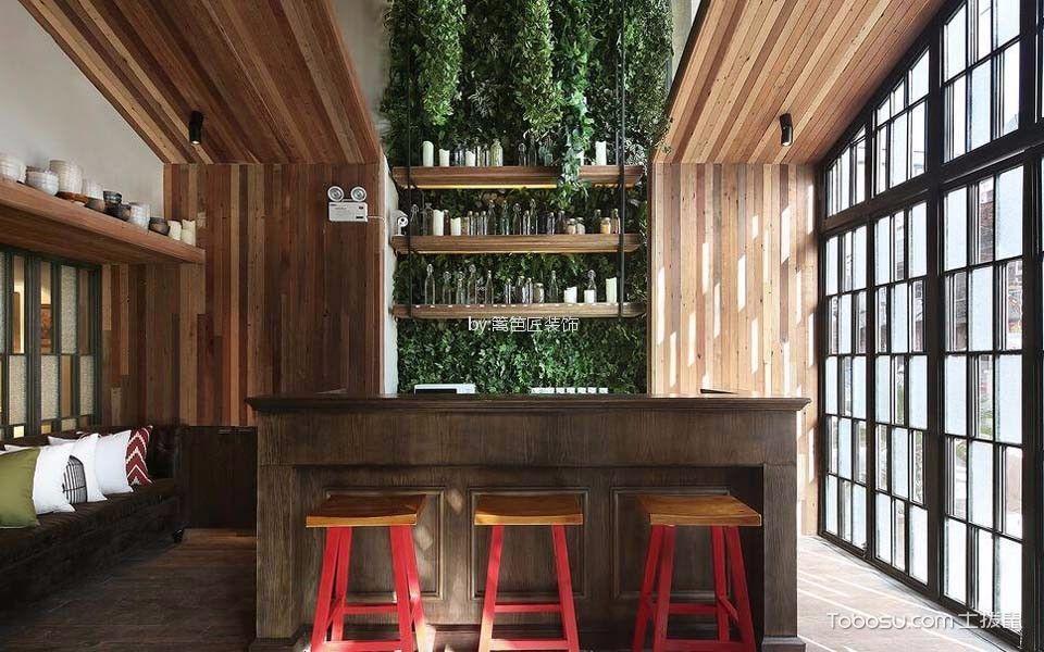 300平米餐厅小吧台装饰设计图片
